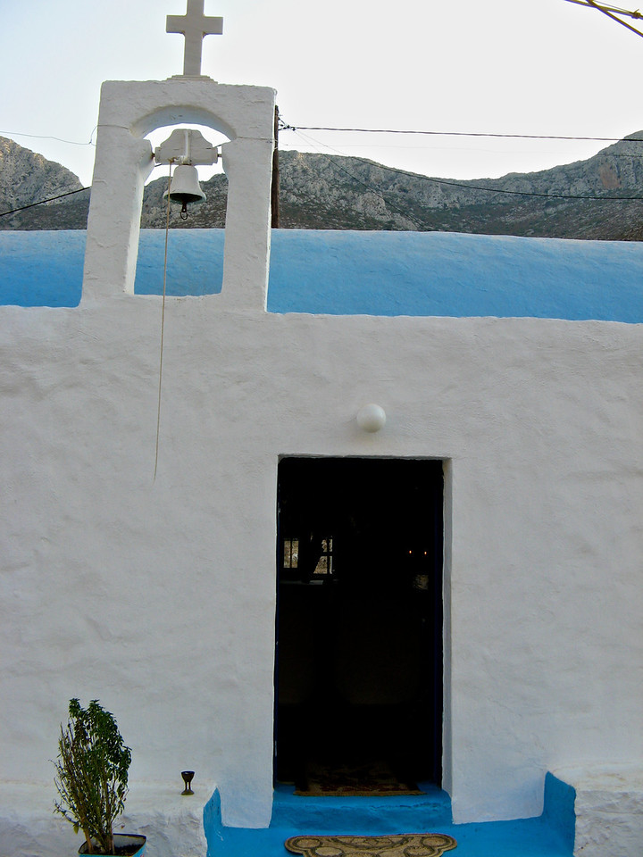 There are thousands of churches everywhere in Greece.  Some are very tiny.