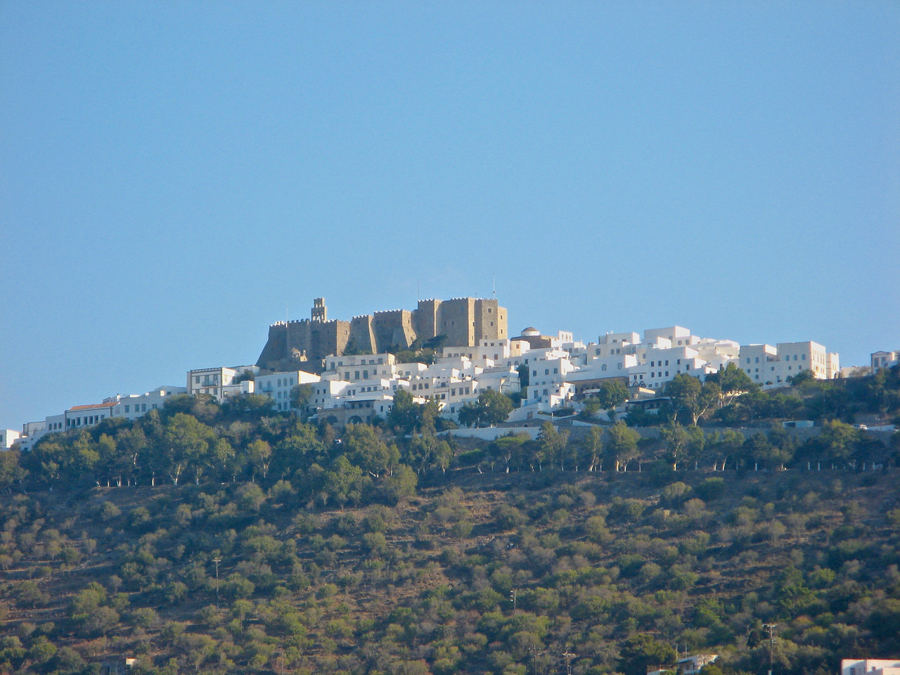 The small island of Pátmos in the Dodecanese is reputed to be where St John the Theologian wrote both his Gospel and the Apocalypse.