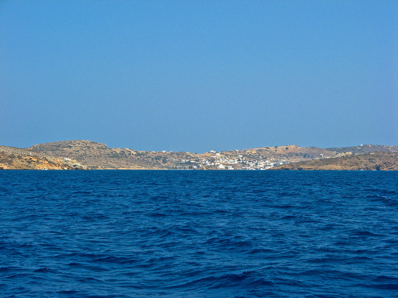 As we leave Lipsi, we now head for Patmos.