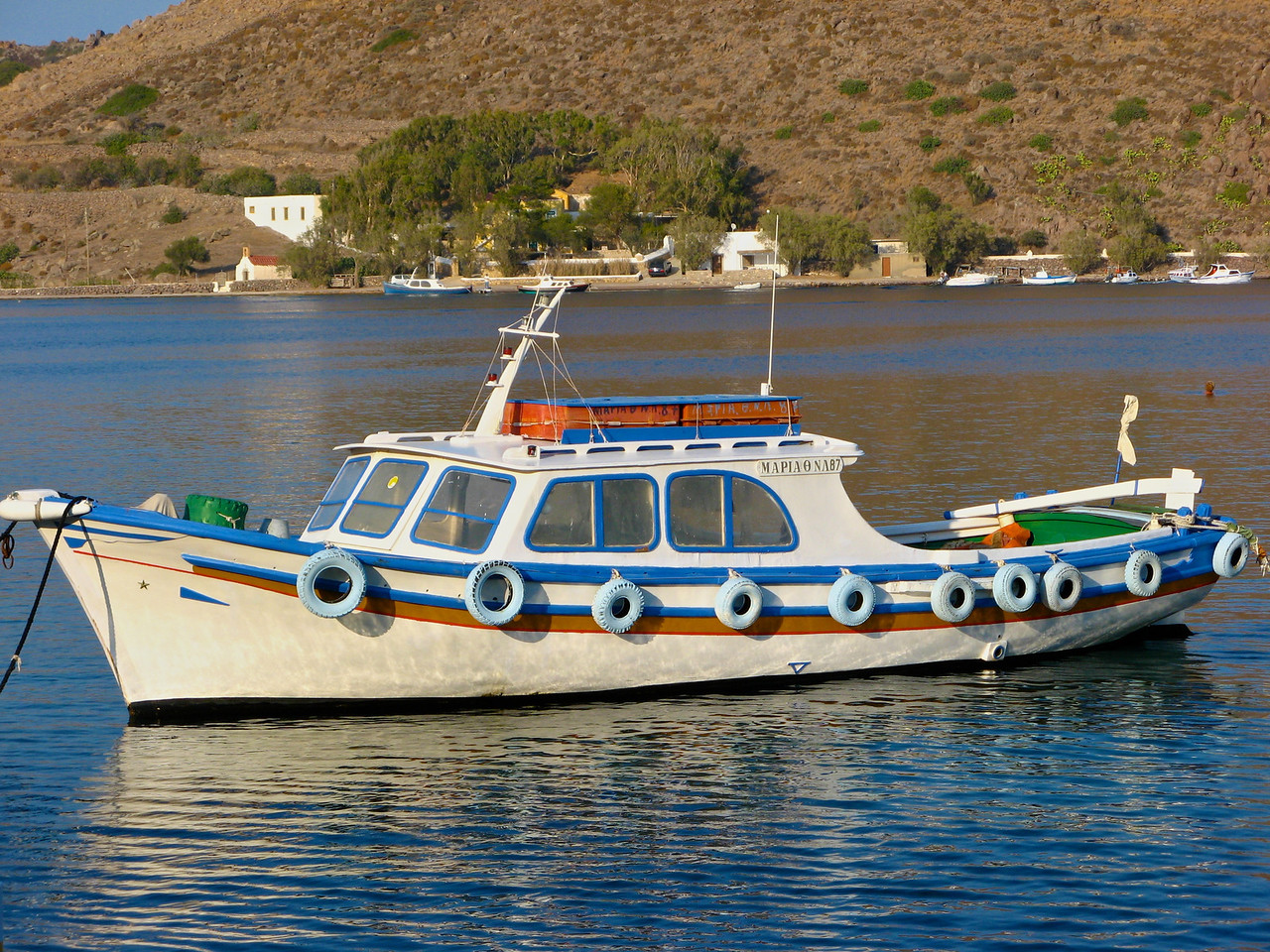 Fishing is still a traditional way of life on many of the Greek islands.