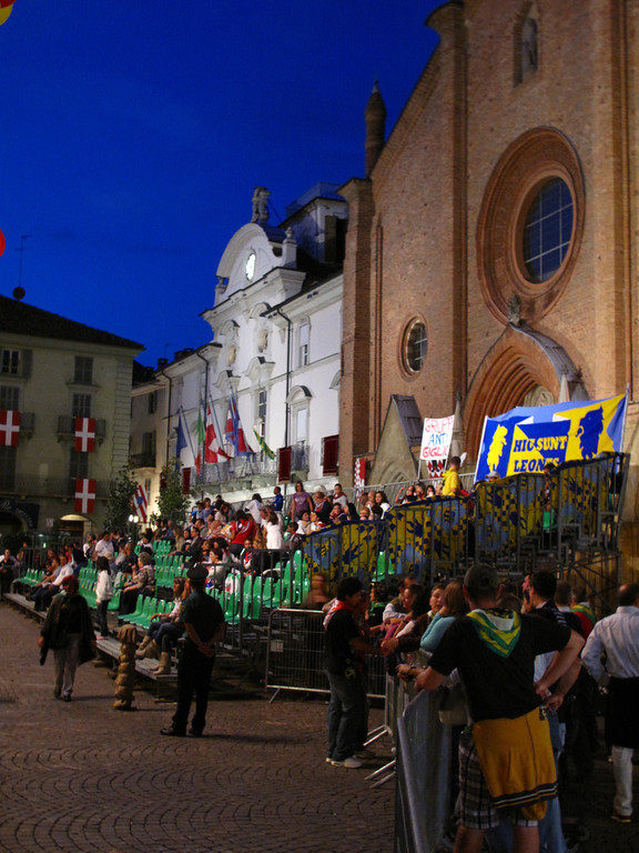 Piedmont's flag-throwing teams are justly famous and every Asti Borgo and provincial town sponsors a team, who compete against each other.