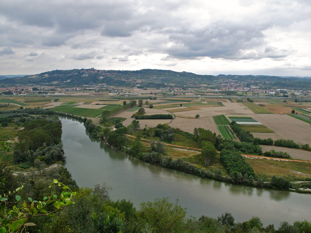 The Tanaro River flows next to Barbaresco.  It's over 140 miles long and is prone to severe flooding.  In the last 200 years, it has flooded over 136 times, with the last severe flood in 1994.