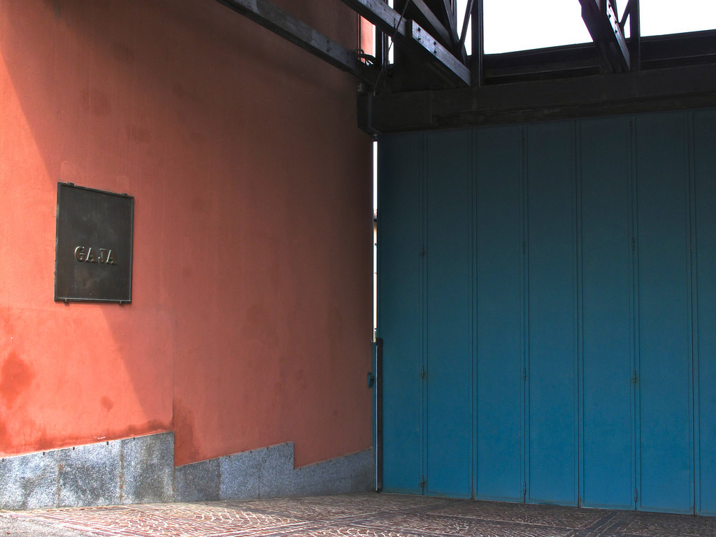 The Gaja winery, started in 1859, is on the main street of Barbaresco.  Each year they produce around 250,000 bottles of wine and have 138 acres of vineyards throughout Piedmont.