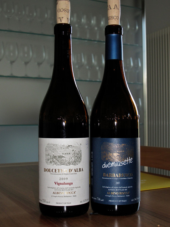 Albino Rocca produces about 90,000 bottles of wine per year and it is distributed around the world.