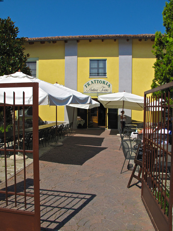 Located right at the base of the tower is Antica Torre restaurant, one of the best in the area.