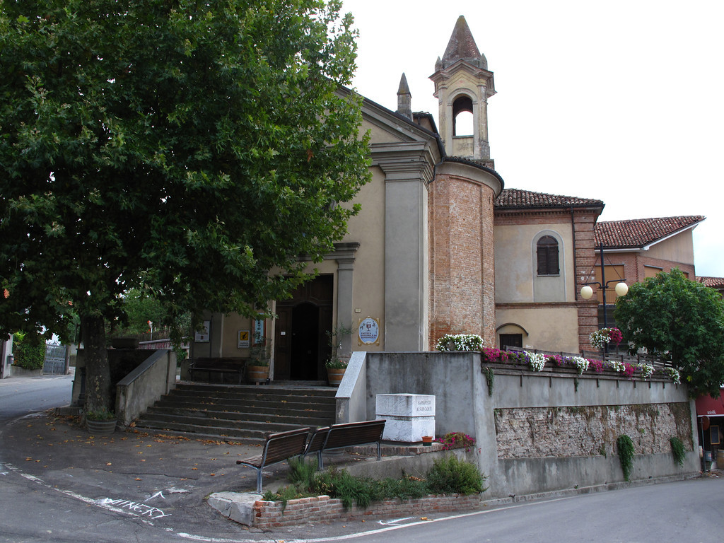 """In 1986, the Church of San Donato was converted into a """"cathedral of wine"""" that sells over 120 different Barbaresco wines."""