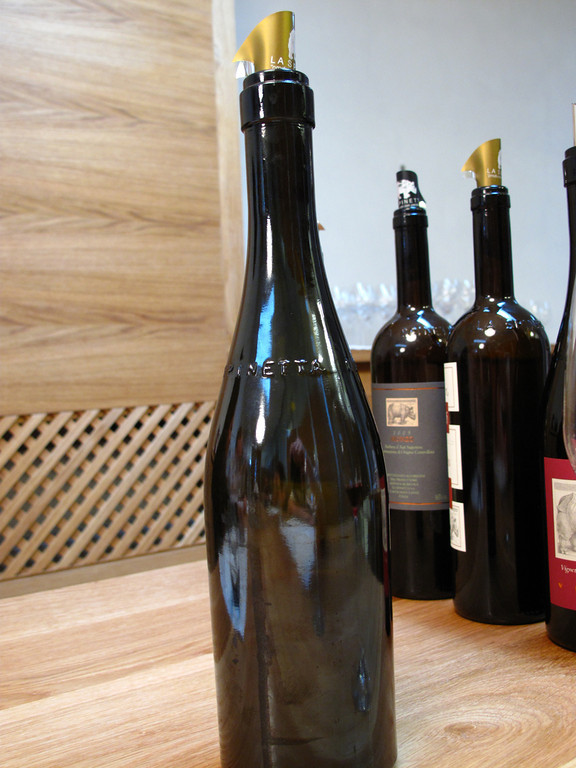 We also have an opportunity to try one of their unreleased wines.