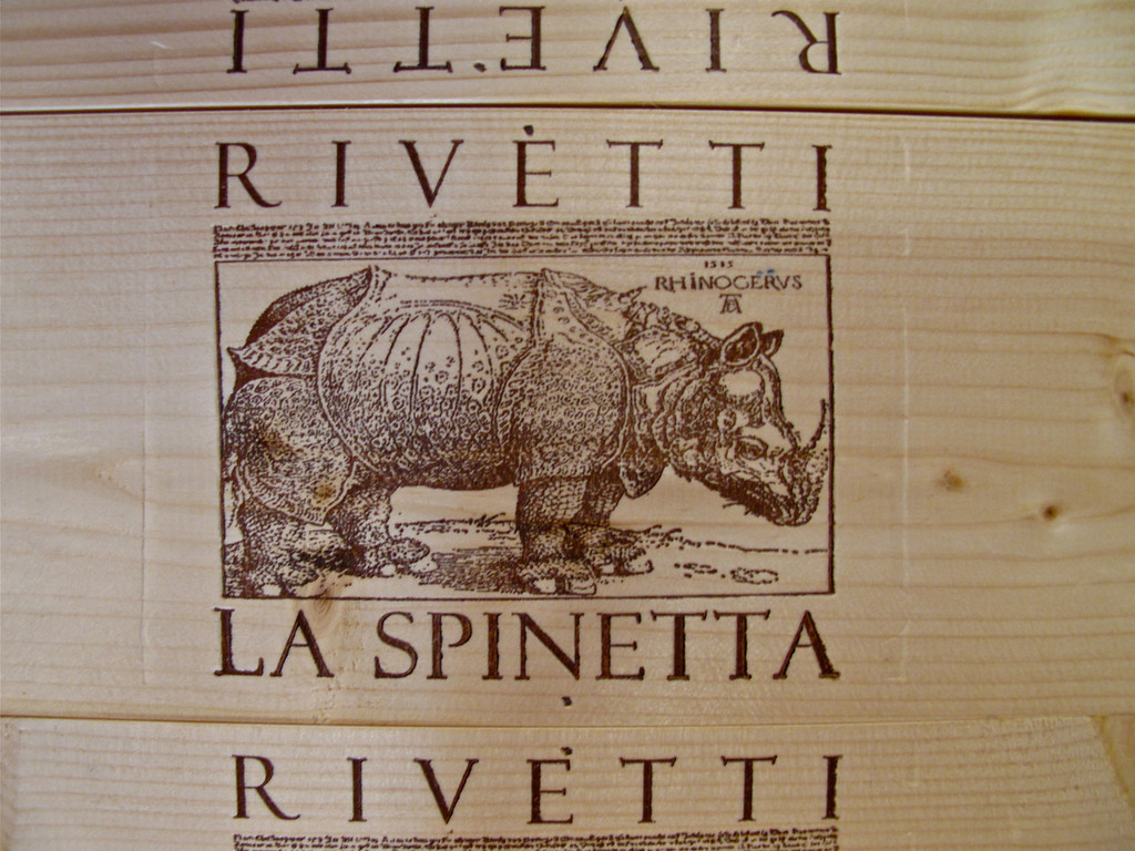LaSpinetta is 100% family owned and was started in 1977 by Giuseppe and Lidia Rivetti.  They started by making Mocasto d'Asti and in 1985, made their first red wine.