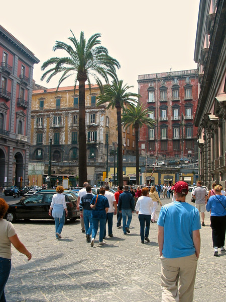 There's plenty to see in the heart of Naples.