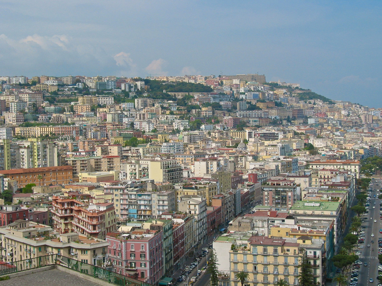 The Naples urban area is the 8th-most populous urban area in the European Union. Between 4.1 and 4.9 million people live in the Naples metropolitan area, one of the largest metropolises on the Mediterranean Sea.<br /> Naples is one of the oldest continuously-inhabited cities in the world. Bronze Age Greek settlements were established on the site in the 2nd millennium BC,with a larger mainland colony – initially known as Parthenope – developing around the 9th–8th centuries BC, at the end of the Greek Dark Ages.