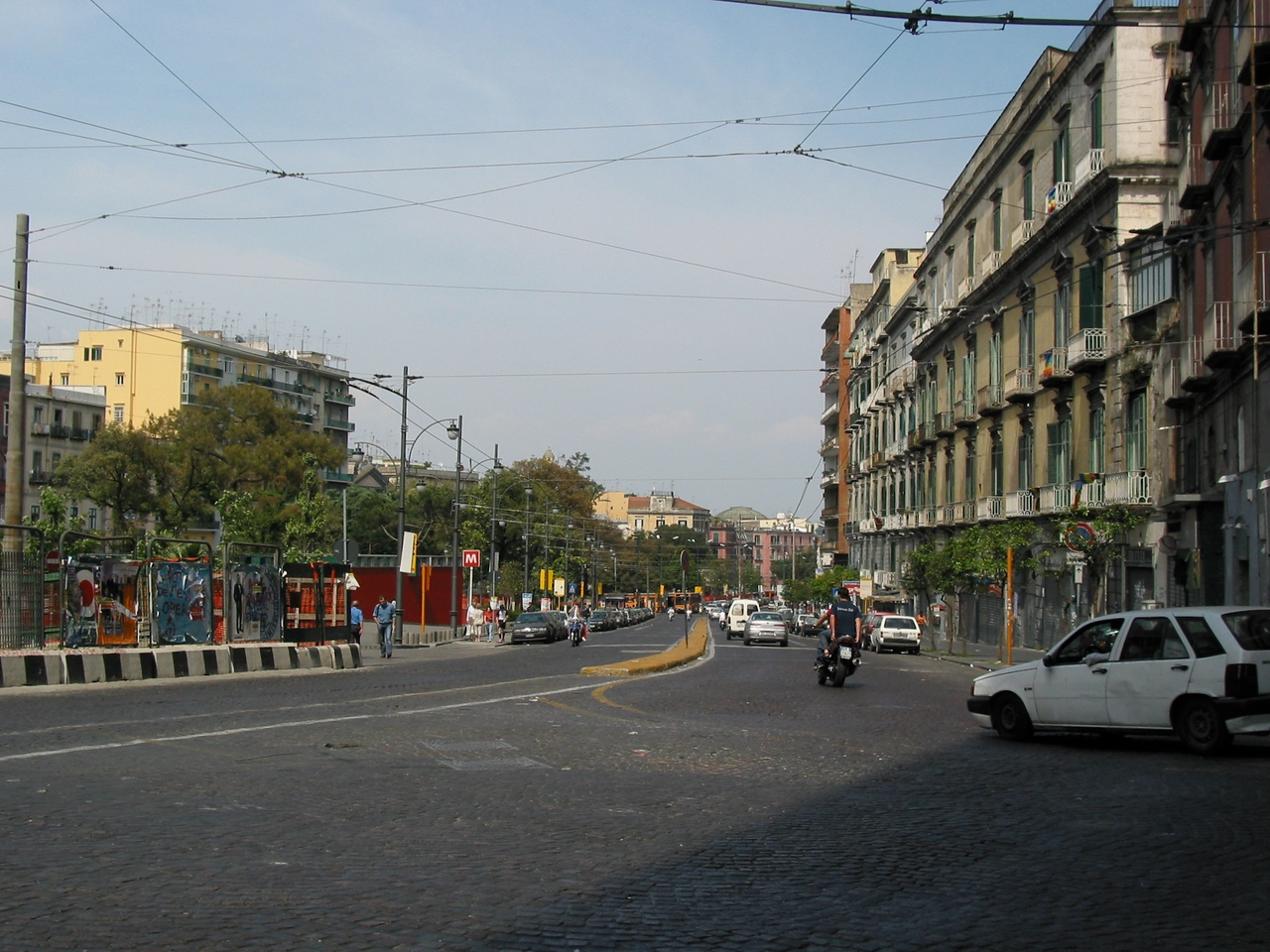 The streets of Naples can be a very busy place and isn't for the faint of heart.