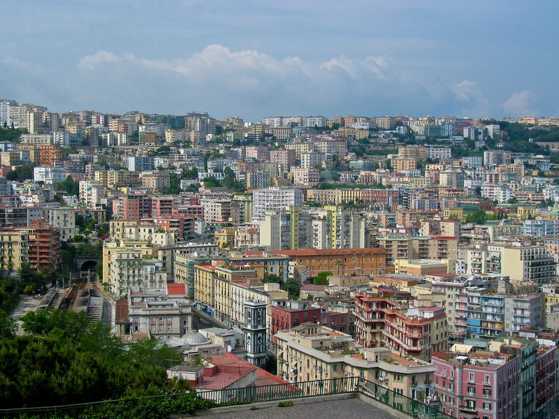Naples is the capital of Campagnia and the third-largest municipality in Italy, after Rome and Milan. As of 2012, around 960,000 people live within the city's administrative limits.