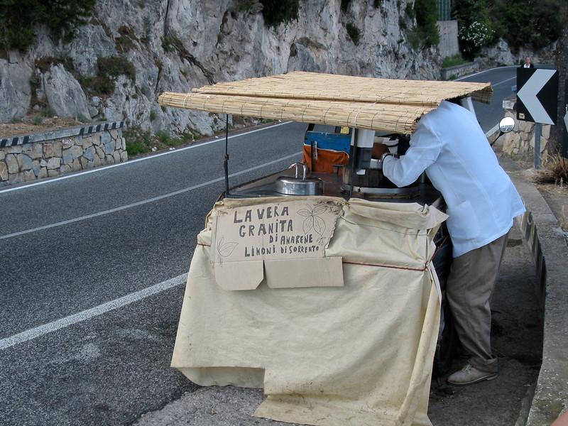 If you're lucky, you'll even find a roadside stand selling fresh lemon granita.