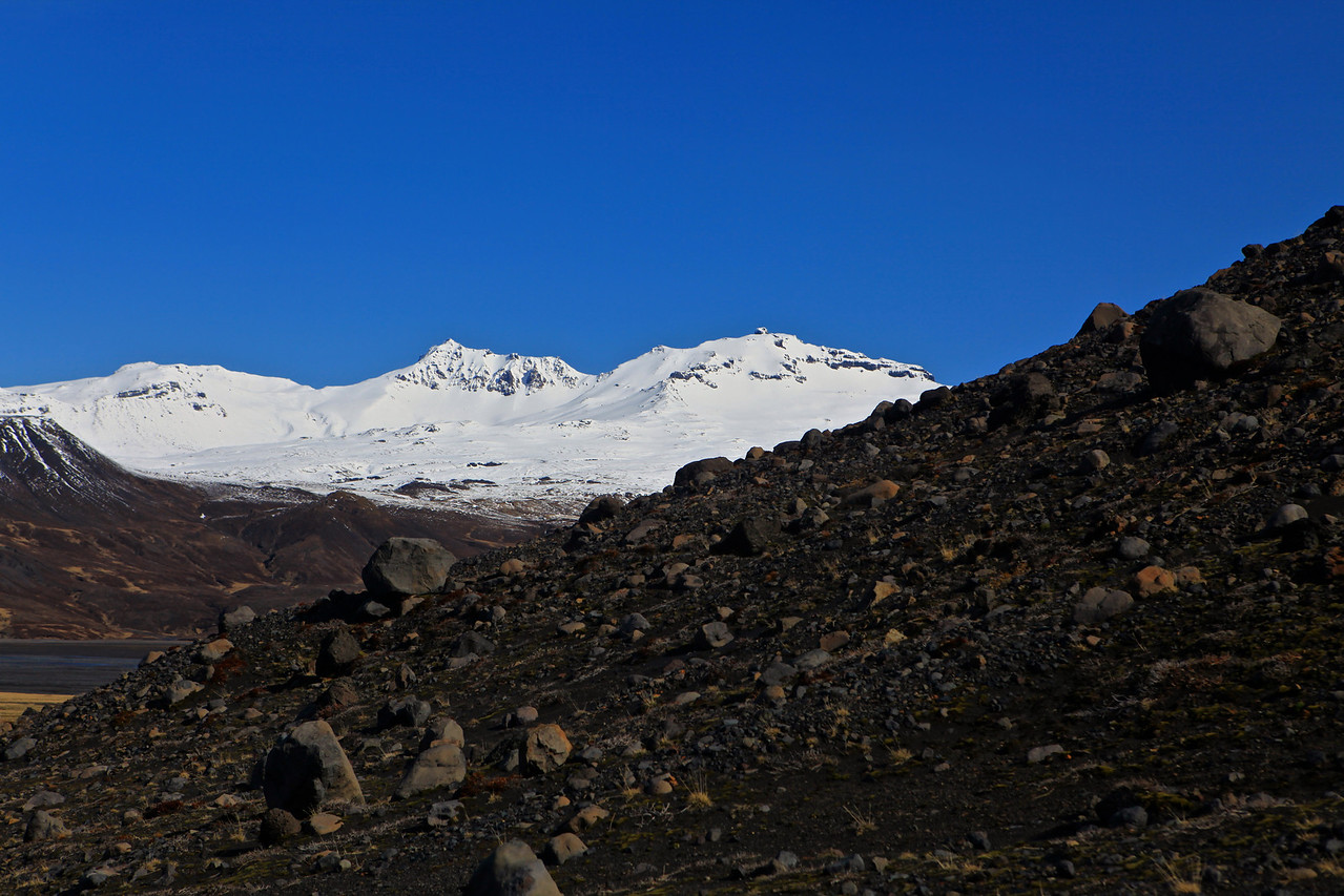 Thórsmörk is a mountain ridge in Iceland that was named after the Norse god Thor. It is situated in the south of Iceland between the glaciers Tindfjallajökull and Eyjafjallajökull.
