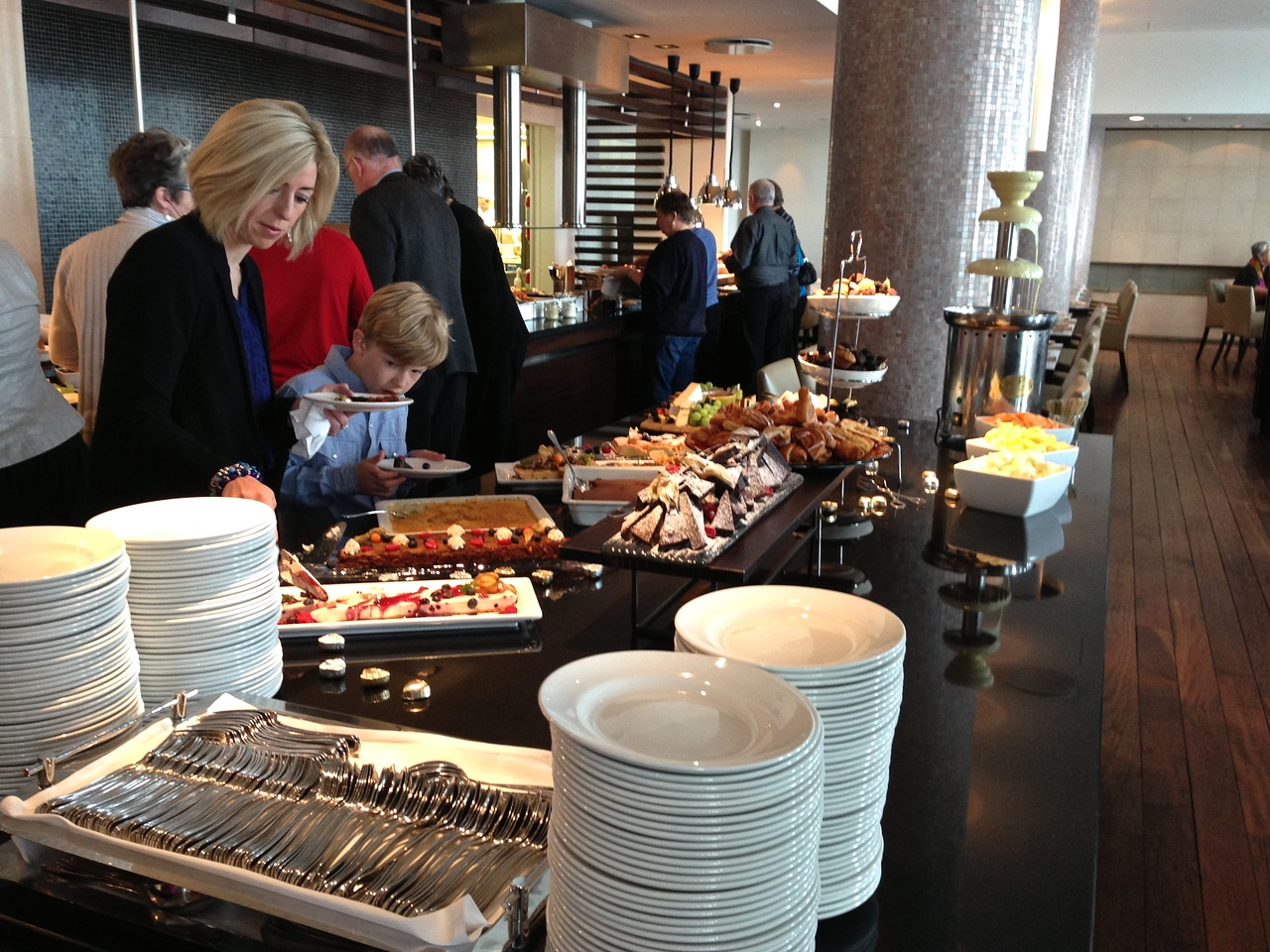 The Hilton is viewed as one of the best places in Reykjavik for Sunday brunch.