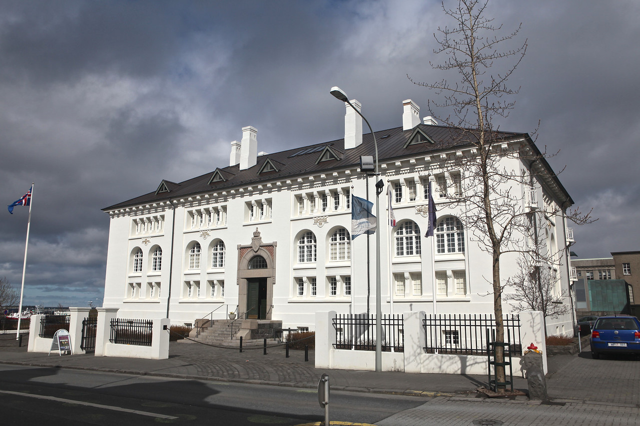 The Culture House was built during the period 1906-1908 to house the National Library and National Archives of Iceland and was opened to the public in the spring of 1909. The building was also home to Iceland's National Museum and Natural History Museum for several decades. The Museum Building, as it soon came to be called, thus housed for a long time all the main treasures of the Icelandic nation under the same roof.