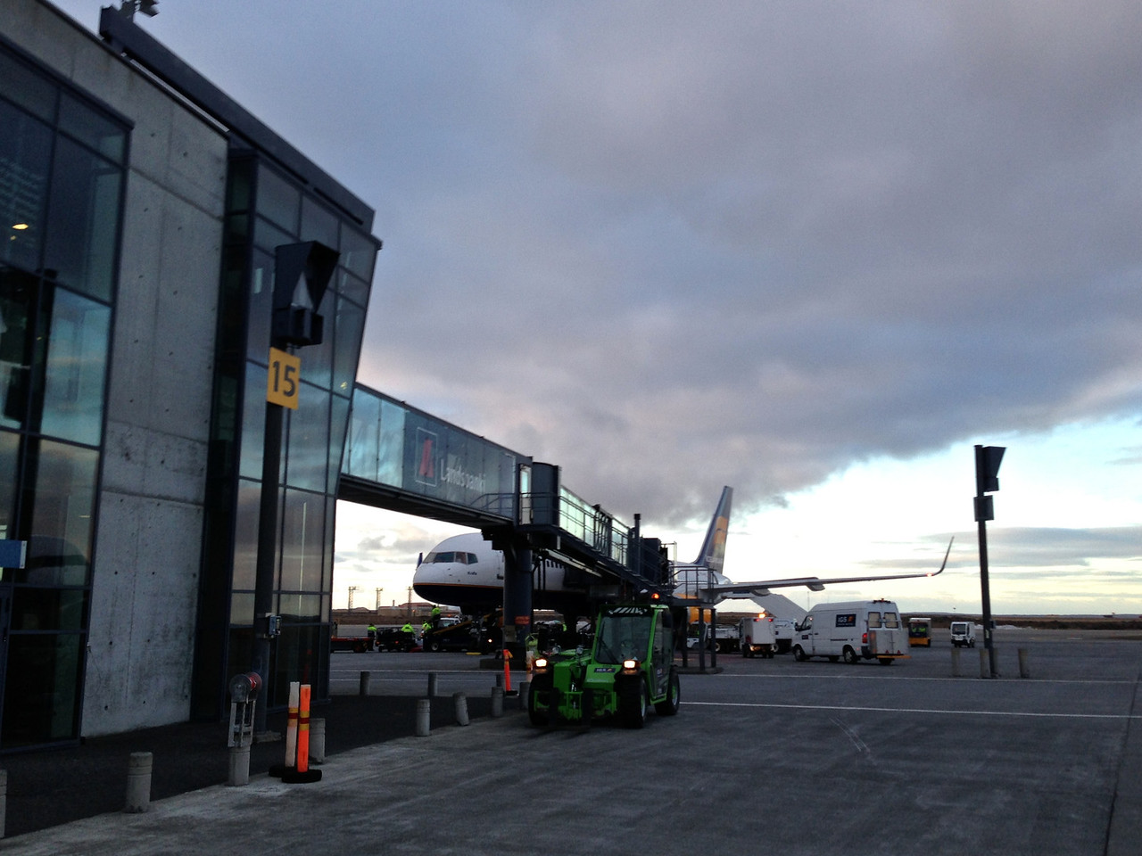 Most flights from the US and Canada leave late in the day and arrive in Reykjavik in early morning.