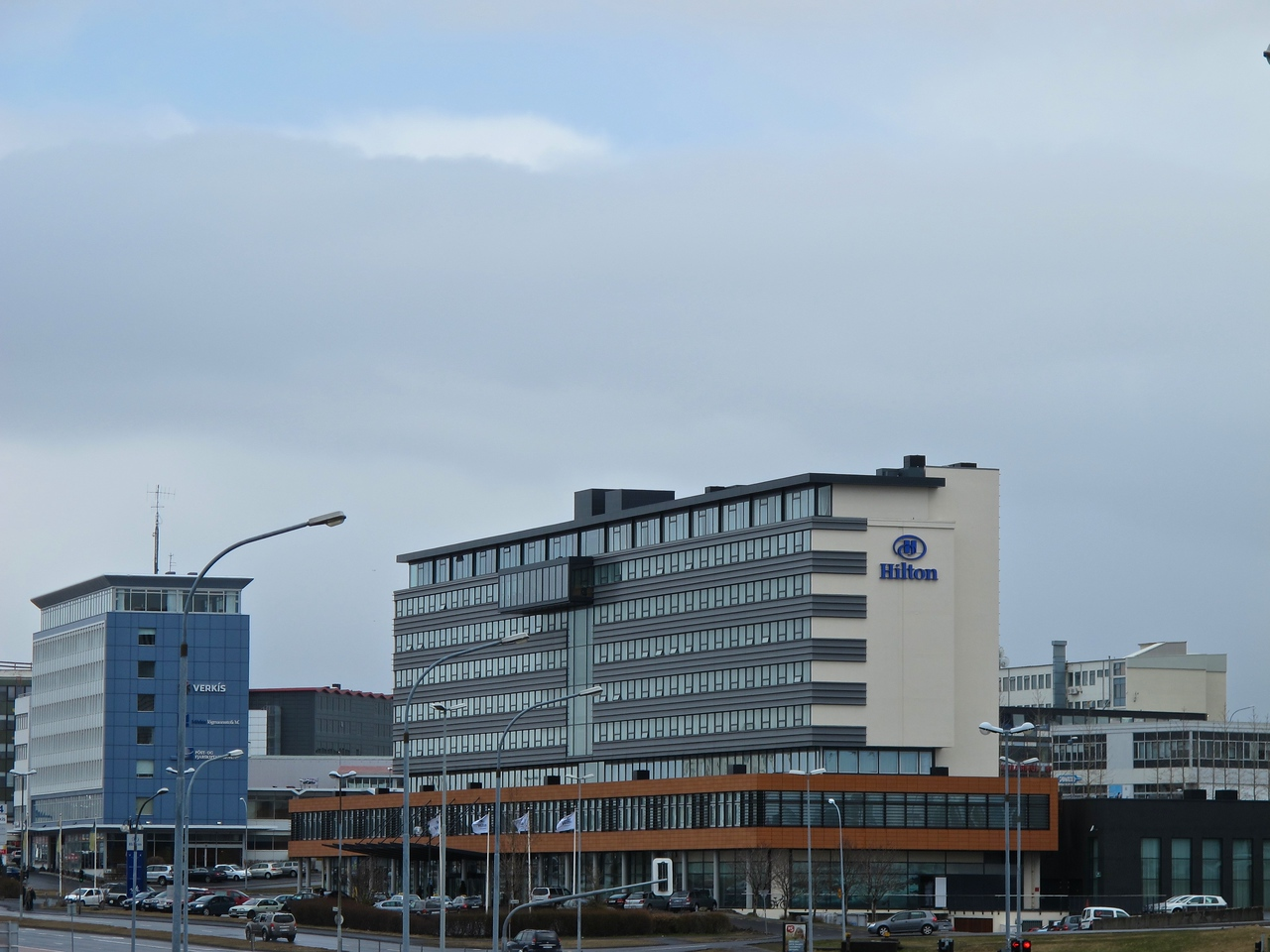 During our visit to Reykjavik we stayed at the Hilton Nordica, on the outskirts of the city.