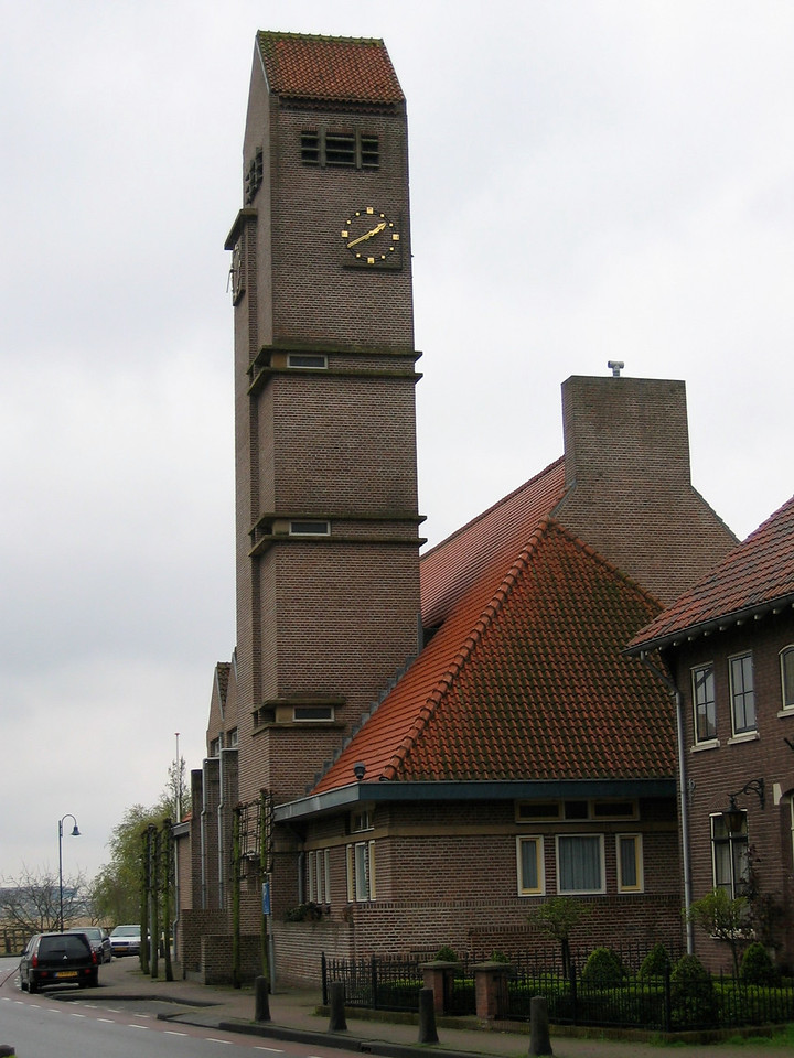 Kinderdijk, the city.