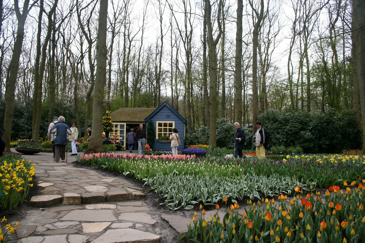 Keukenhof has been the world's largest flower garden for over fifty years