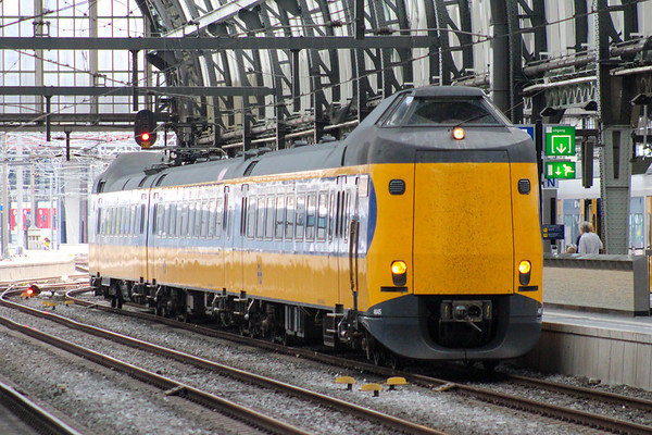 A Koploper at Amsterdam Centraal