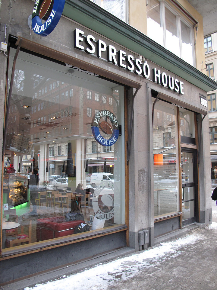 Our favorite coffee was from Espress House which has many locations in the city.