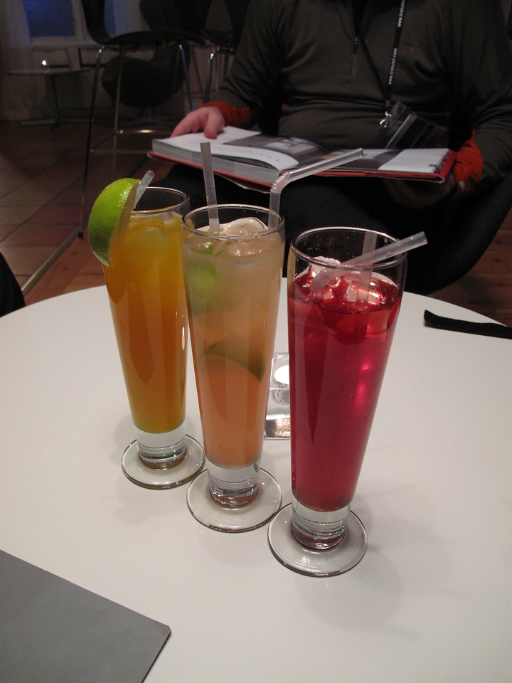 In the warm bar, drinks aren't quite as expensive as the Ice Bar and the portions are bigger.