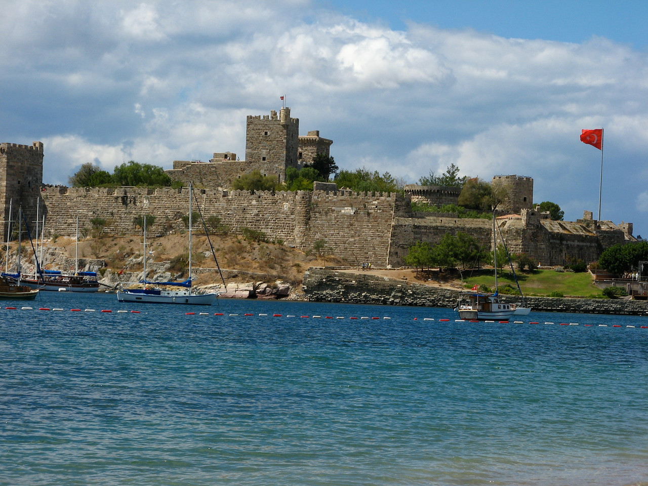 The Castle of St Peter in Bodrum was built in 1402.