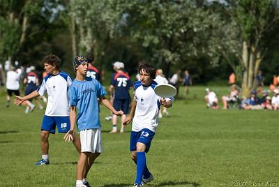 Monday. Junior Open. Israel - France (6-17)
