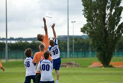 Sunday. Junior Open. France - Estonia (17-14)