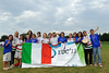 EUC2011, Maribor Slovenia.<br /> Award Ceremony. Women  Division.<br /> 3rd. Bronze Medal : Italy<br /> PhotoId :2011-08-06-1880