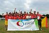 EUC2011, Maribor Slovenia.<br /> Award Ceremony. Mixed  Division.<br /> 3rd. Bronze Medal  : Belgium<br /> PhotoId :2011-08-06-1833