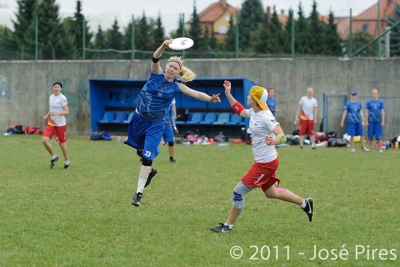 EUC2011, Maribor Slovenia.<br /> Great Britain vs Germany. Women Division<br /> PhotoId :2011-08-03-0306
