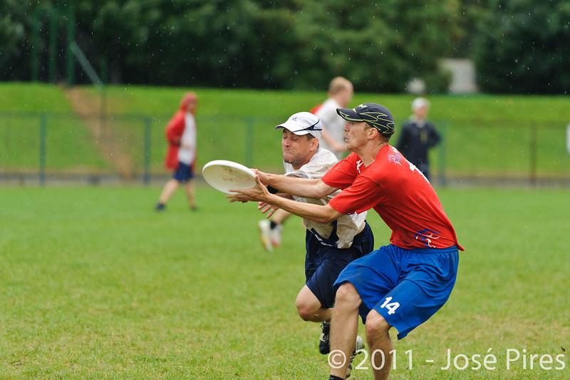 EUC2011, Maribor Slovenia.<br /> Great Britain vs Finland. Final. Master Division<br /> PhotoId :2011-08-04-0998