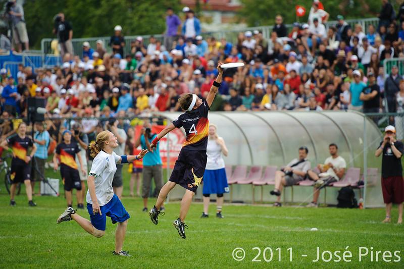 EUC2011, Maribor Slovenia.<br /> Germany vs Great Britain. Final. Women Division<br /> PhotoId :2011-08-06-1190