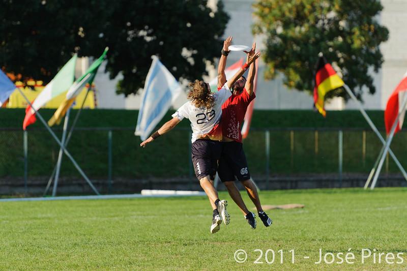 EUC2011, Maribor Slovenia.<br /> Switzerland vs Germany. 3rd Place. Open Division<br /> PhotoId :2011-08-05-0725