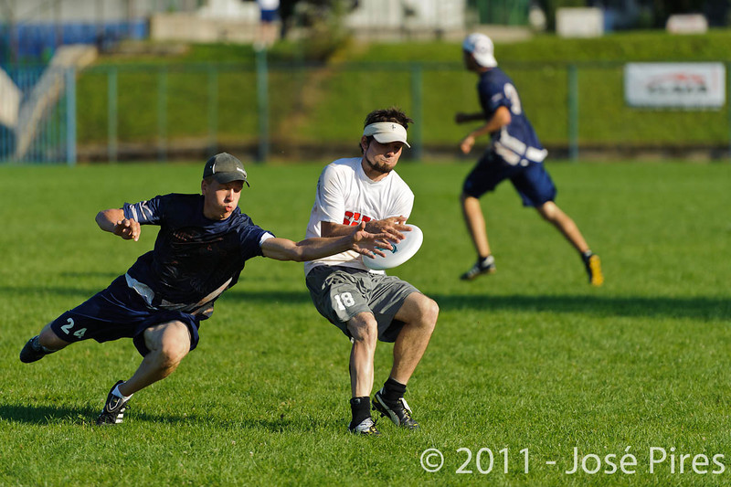 EUC2011, Maribor Slovenia.<br /> Austria vs Finland. Mixed Division.<br /> PhotoID : 2011-08-02-1062