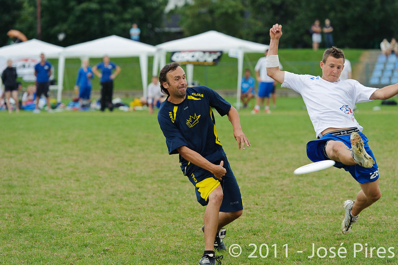 EUC2011, Maribor Slovenia.<br /> Sweden vs Great Britain. Final. Open Division<br /> PhotoId :2011-08-06-1425