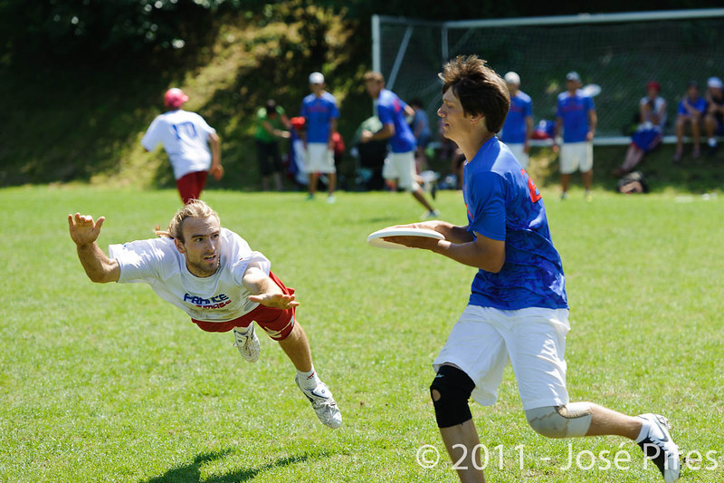 EUC2011, Maribor Slovenia.<br /> Russia vs France. Semi-final. Mixed Division<br /> PhotoId :2011-08-05-0179