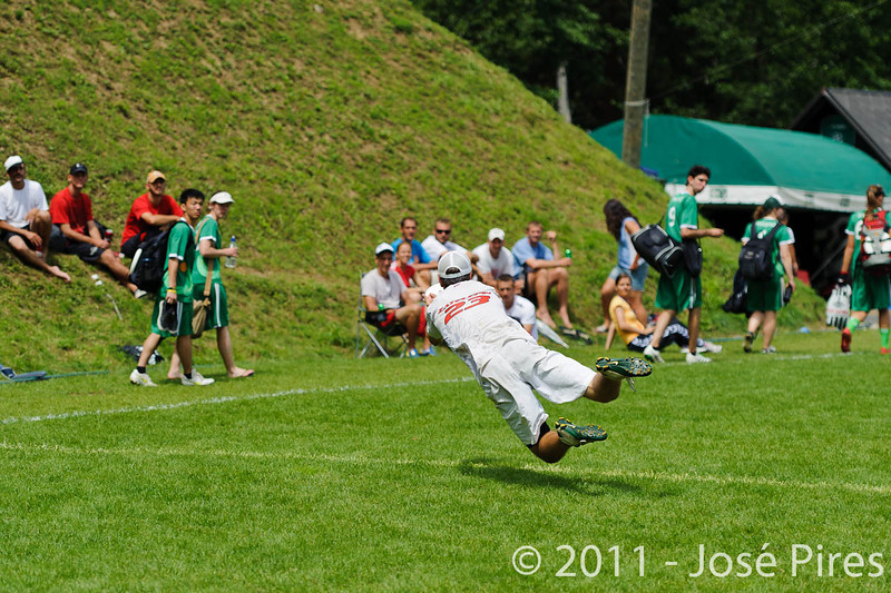 EUC2011, Maribor Slovenia.<br /> Germany vs Russia. Quarter-final. Mixed Division<br /> PhotoId :2011-08-04-0282