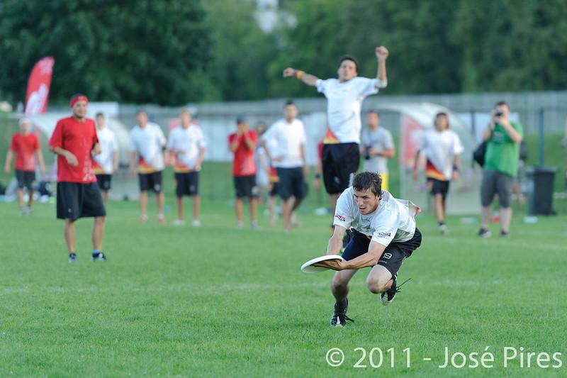 EUC2011, Maribor Slovenia.<br /> Switzerland vs Germany. 3rd Place. Open Division<br /> PhotoId :2011-08-05-0867