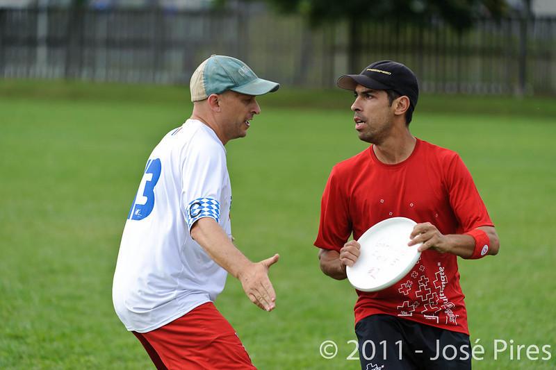 EUC2011, Maribor Slovenia.<br /> France vs Switzerland. Master Division.<br /> PhotoID : 2011-07-31-0887