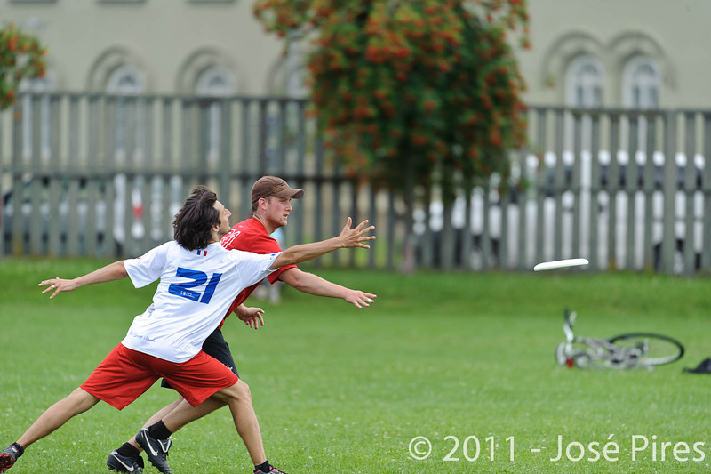 EUC2011, Maribor Slovenia.<br /> France vs Switzerland. Master Division.<br /> PhotoID : 2011-07-31-0776