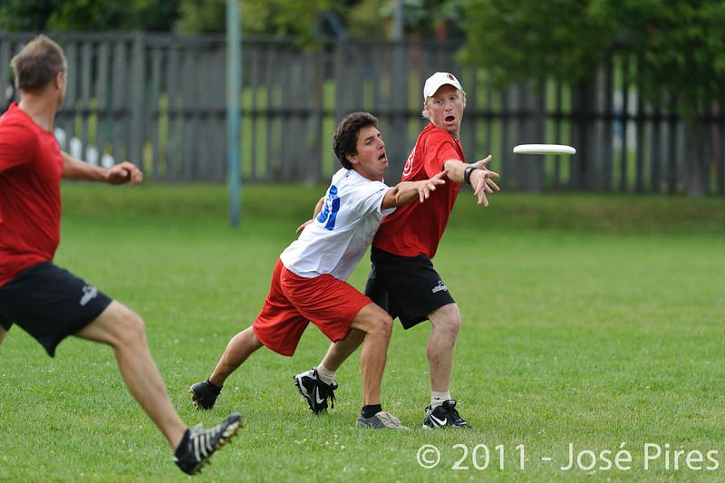 EUC2011, Maribor Slovenia.<br /> France vs Switzerland. Master Division.<br /> PhotoID : 2011-07-31-0884