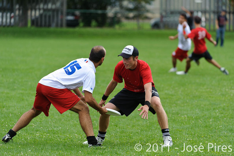 EUC2011, Maribor Slovenia.<br /> France vs Switzerland. Master Division.<br /> PhotoID : 2011-07-31-0818