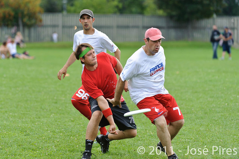 EUC2011, Maribor Slovenia.<br /> France vs Switzerland. Master Division.<br /> PhotoID : 2011-07-31-0836