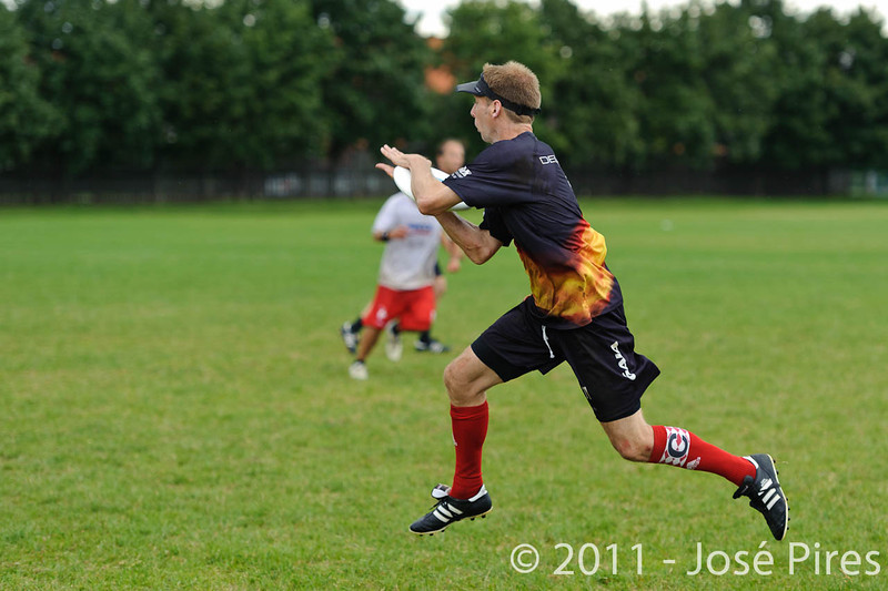 EUC2011, Maribor Slovenia.<br /> France vs Germany. 3rd Place. Master Division<br /> PhotoId :2011-08-04-0504