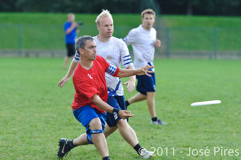 EUC2011, Maribor Slovenia.<br /> Great Britain vs Finland. Final. Master Division<br /> PhotoId :2011-08-04-0886