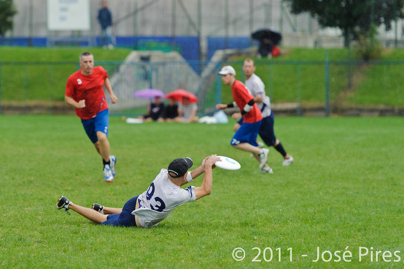 EUC2011, Maribor Slovenia.<br /> Great Britain vs Finland. Final. Master Division<br /> PhotoId :2011-08-04-0949