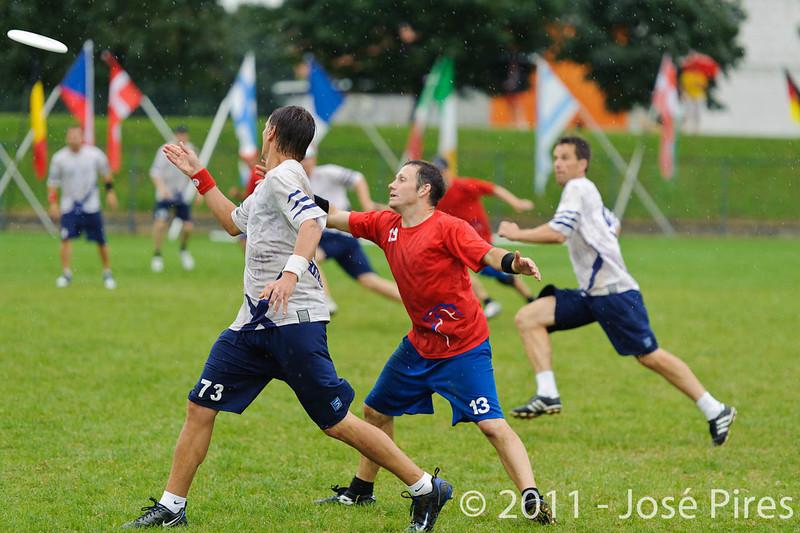 EUC2011, Maribor Slovenia.<br /> Great Britain vs Finland. Final. Master Division<br /> PhotoId :2011-08-04-0958
